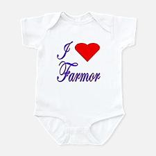 I Love Farmor Infant Bodysuit