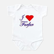I Love Farfar Infant Creeper