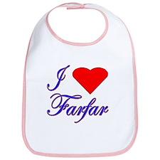 I Love Farfar Bib