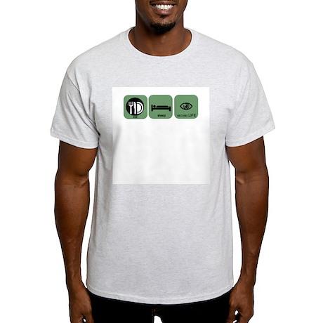 Eat Sleep Second Life Light T-Shirt