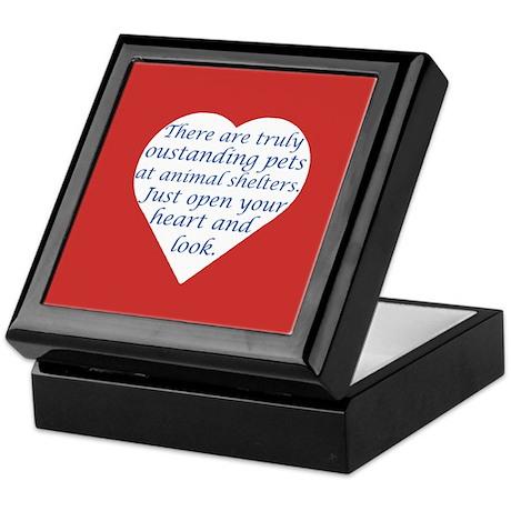 Open Your Heart Keepsake Box