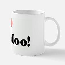 I Love     My Moo! Mug