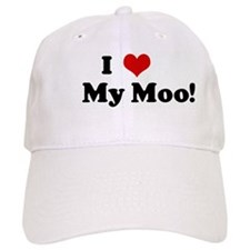 I Love My Moo! Baseball Cap