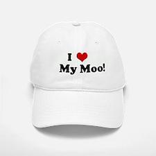 I Love My Moo! Baseball Baseball Cap