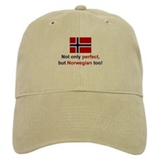 Perfect Norwegian Baseball Baseball Cap