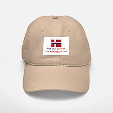 Perfect Norwegian Baseball Baseball Cap