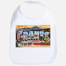 Grants New Mexico Greetings Bib