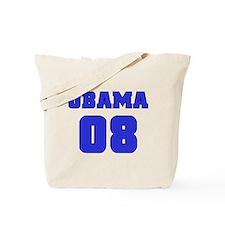 Blue Varsity Obama '08 Tote Bag