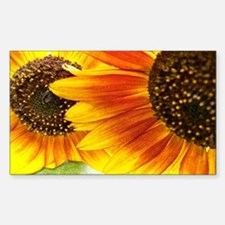 Sunflowers Forever Rectangle Decal