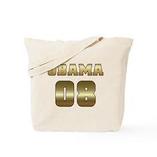Gold Varsity Obama '08 Tote Bag