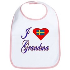 I Love My Swedish Grandma Bib