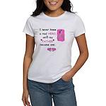 FATHERS A REAL HERO Women's T-Shirt