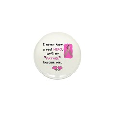 FATHERS A REAL HERO Mini Button (100 pack)