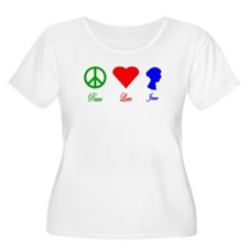 Peace. Love. Jane. T-Shirt