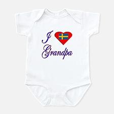 I Love My Swedish Grandpa Infant Bodysuit