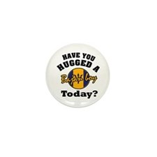 Have you hugged a Bajan boy today? Mini Button (10