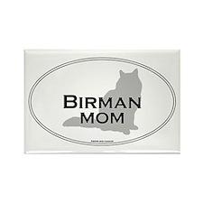 Birman Mom Rectangle Magnet