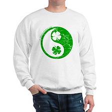 Yin Yang Clovers 2 Sweatshirt