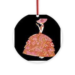 Tre Jur Perfume Advertisement Ornament (Round)