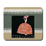 Tre Jur Perfume Advertisement Mousepad