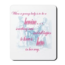 heroine quote Mousepad