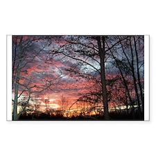 Sunrise Rectangle Decal