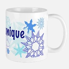 Snowflakes Collage Mug