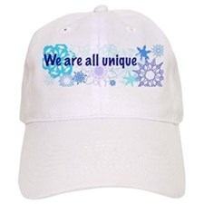 Snowflakes Collage Hat