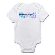 Snowflakes Collage Infant Bodysuit