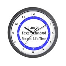 I m on Eastern Standard Second Life timeWall Clock