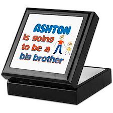 Ashton - Going to be Big Brot Keepsake Box