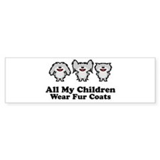 All My Children Bumper Car Sticker