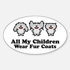 All My Children Oval Decal