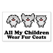 All My Children Rectangle Decal
