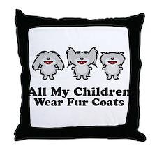 All My Children Throw Pillow