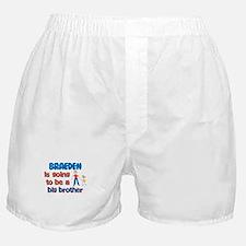 Braeden - Going to be Big Bro Boxer Shorts