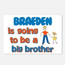 Braeden - Going to be Big Bro Postcards (Package o