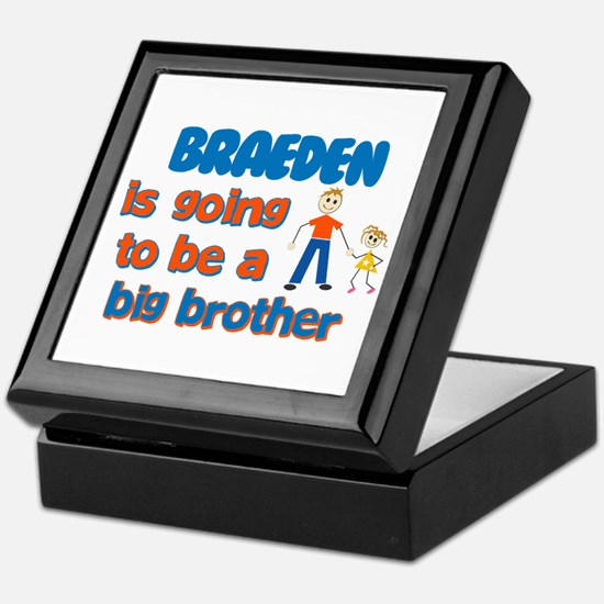 Braeden - Going to be Big Bro Keepsake Box