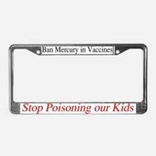 Ban Mercury License Plate Frame