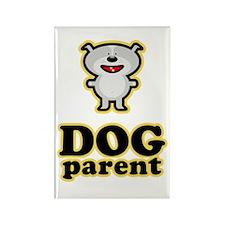 Dog Parent Rectangle Magnet