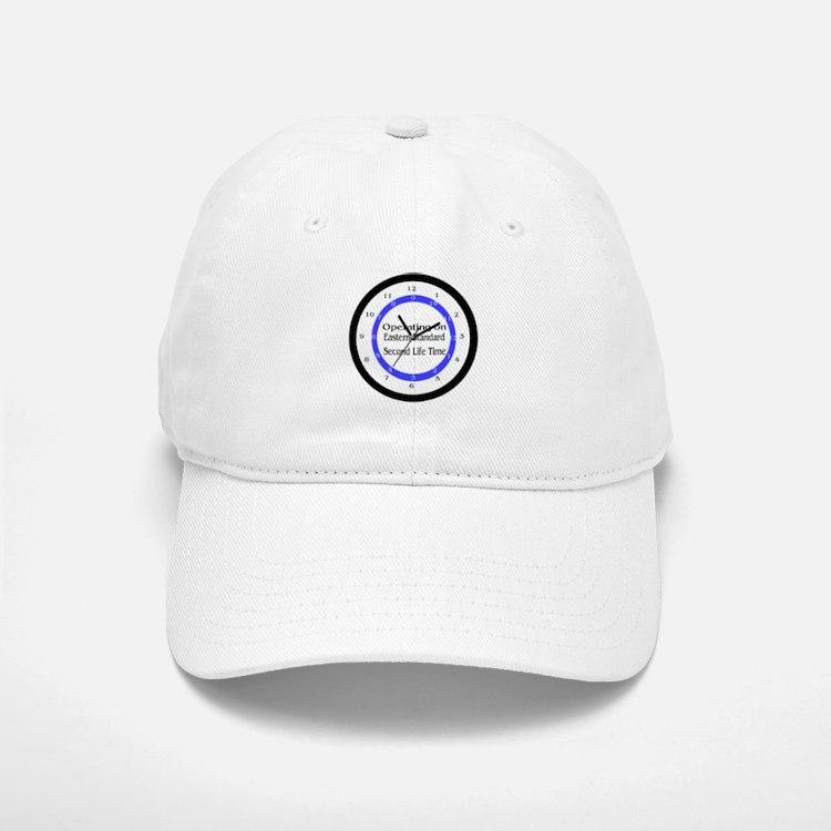 Operating on Second Life Time Baseball Baseball Cap