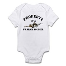Property US Army Soldier Military Infant Creeper
