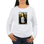 Mona's Maltese (R) Women's Long Sleeve T-Shirt