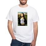 Mona's Maltese (R) White T-Shirt