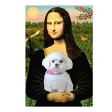 Mona's Maltese (R) Postcards (Package of 8)