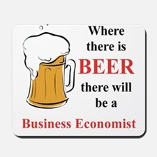 Business Economist Mousepad