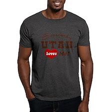 Somebody in Utah Loves Me T-Shirt