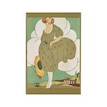 Vintage Ad Illustration Rectangle Magnet (10 pack)