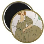"""Vintage Ad Illustration 2.25"""" Magnet (10 pack)"""