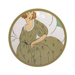 Vintage Ad Illustration Ornament (Round)